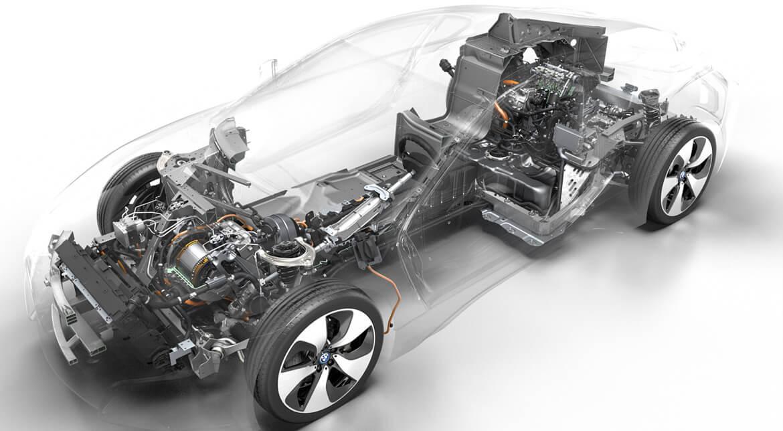 BMW i8 Technical Art Presse
